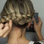 Dutch Braid Crown – Pretty Hairstyle