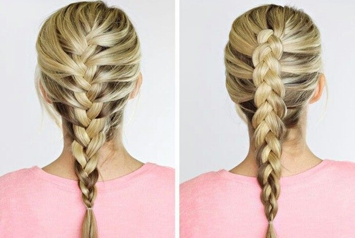 Dutch Braid vs French Braid