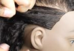How To Braid Your Own Hair To The Scalp Easily